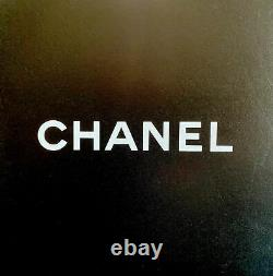 Authentic Chanel Petite Shopping Tote Quilted Caviar Black Genuine Leather Bag