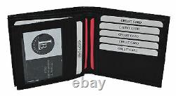 BLACK FRIDAY SPECIAL Men's wallet with 16 credit card slots Genuine Leather