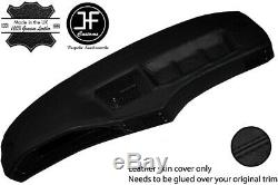 Black Leather Dash Dashboard Real Leather Cover Fits Bmw 5 Series E28 1981-1987