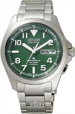 Citizen Promaster Land PMD56-2951 Eco-Drive Radio Watch 100% Genuine from JAPAN