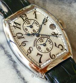GENUINE FRANCK MULLER MASTER BANKER 5850MB SS 38 x 32 mm AUTOMATIC watch