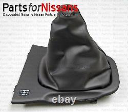 GENUINE NISSAN 1994-1998 240SX S14 CONSOLE SHIFT BOOT With SHIFT PATTERN NEW OEM