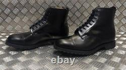 Genuine British Made Sanders Military Officers Derby Boots Leather Marvelfairs
