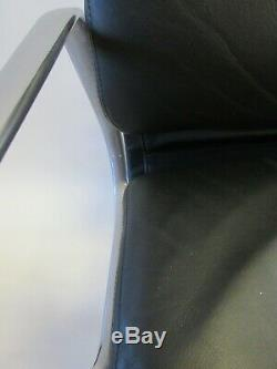 Genuine Herman Miller Eames Soft Pad Management Chair in Black Leather