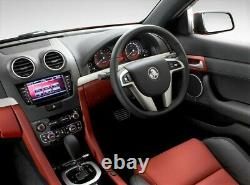 Genuine Holden VE SS-V Leather Steering Wheel Black Perforated Sports Commodore