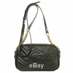 Gucci Shoulder Bags Luxury Chain Package High Quality Real Leather 2079 Marmont