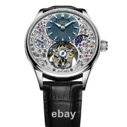 Haofa tourbillon new real mechanical watch genuine German hollowed-out