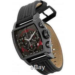 Invicta S1 Rally 27947 Men's Black Genuine Leather Chronograph Watch