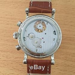 MINORVA SS Moonphase date 1-Min. Real Flying Tourbillon white