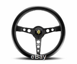 MOMO Prototipo Black 350mm Steering Wheel New Genuine