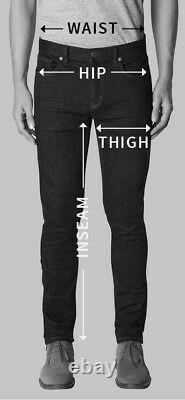 Men's Real Leather Bikers 5 Pockets Pants Available In 3 Colors Leather Stripes