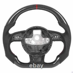 Real Carbon Fiber Sport Steering Wheel for Audi S3 S4 S5 RS3 RS4 RS5 RS6 RS7 RS